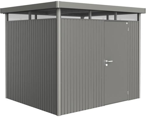Biohort Zahradní domek HIGHLINE® H3,šedý křemen metalíza