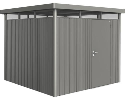 Biohort Zahradní domek HIGHLINE® H4,šedý křemen metalíza