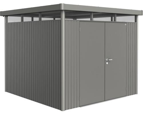 Biohort Zahradní domek HIGHLINE® H4, šedý křemen metalíza