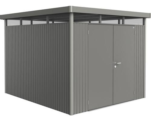 Biohort Zahradní domek HIGHLINE® H5, šedý křemen metalíza
