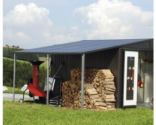 Biohort Postranní střecha pro EUROPA 4,5, tmavě zelená