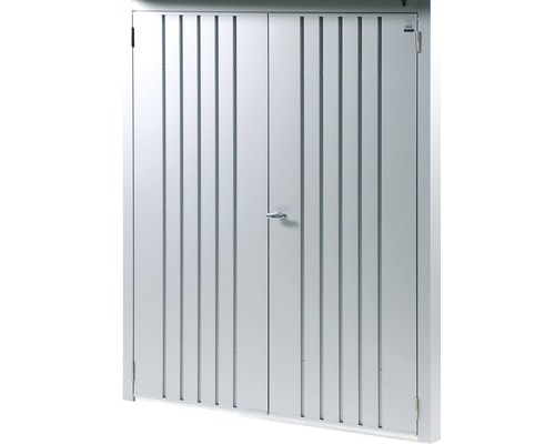 Biohort Dveřní set WoodStock® 150, stříbrná metalíza