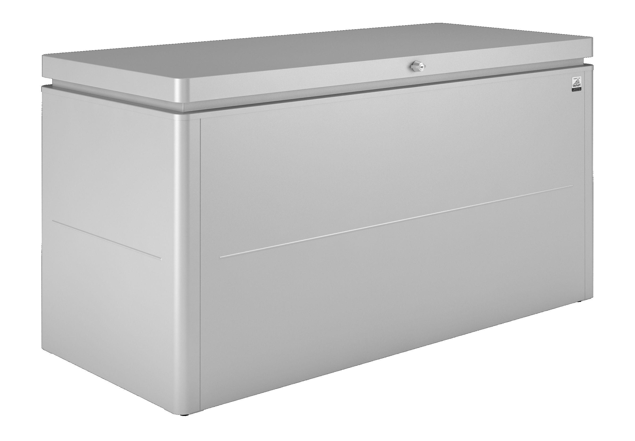 Biohort Úložný box LoungeBox® 160, stříbrná metalíza