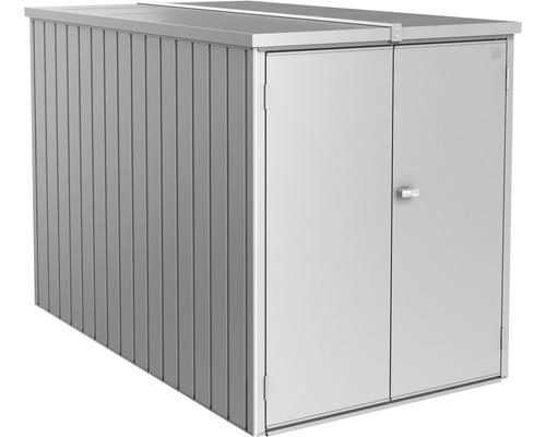 Biohort MiniGarage 122 x 203 x 145, stříbrná metalíza
