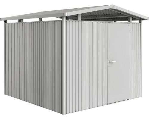 Biohort Zahradní domek PANORAMA P4, stříbrná metalíza