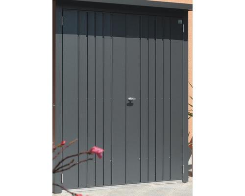 Biohort Dveřní set WoodStock® 150, šedý křemen metalíza