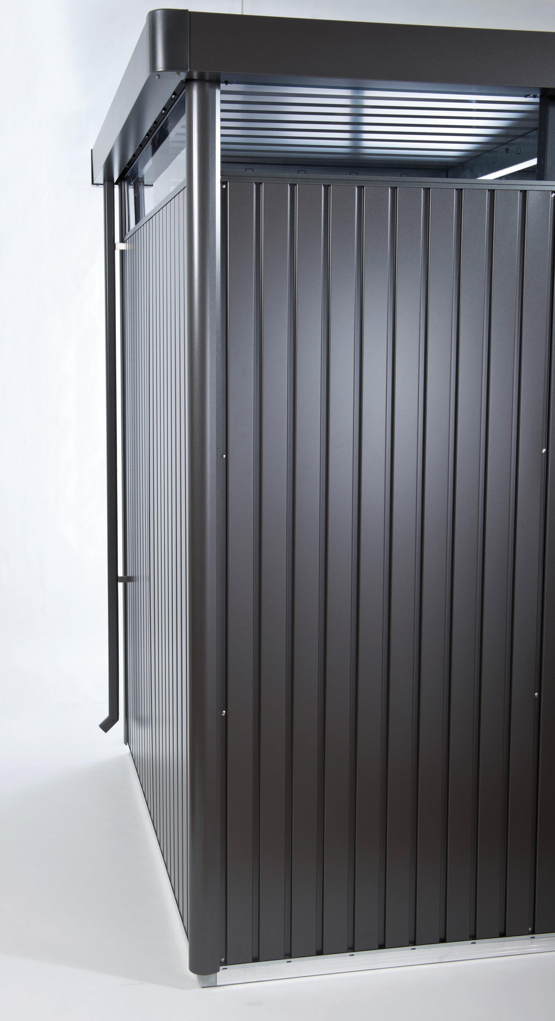 Biohort Sada okapových svodů pro HIGHLINE®, tmavě šedá metalíza, 2 kusy