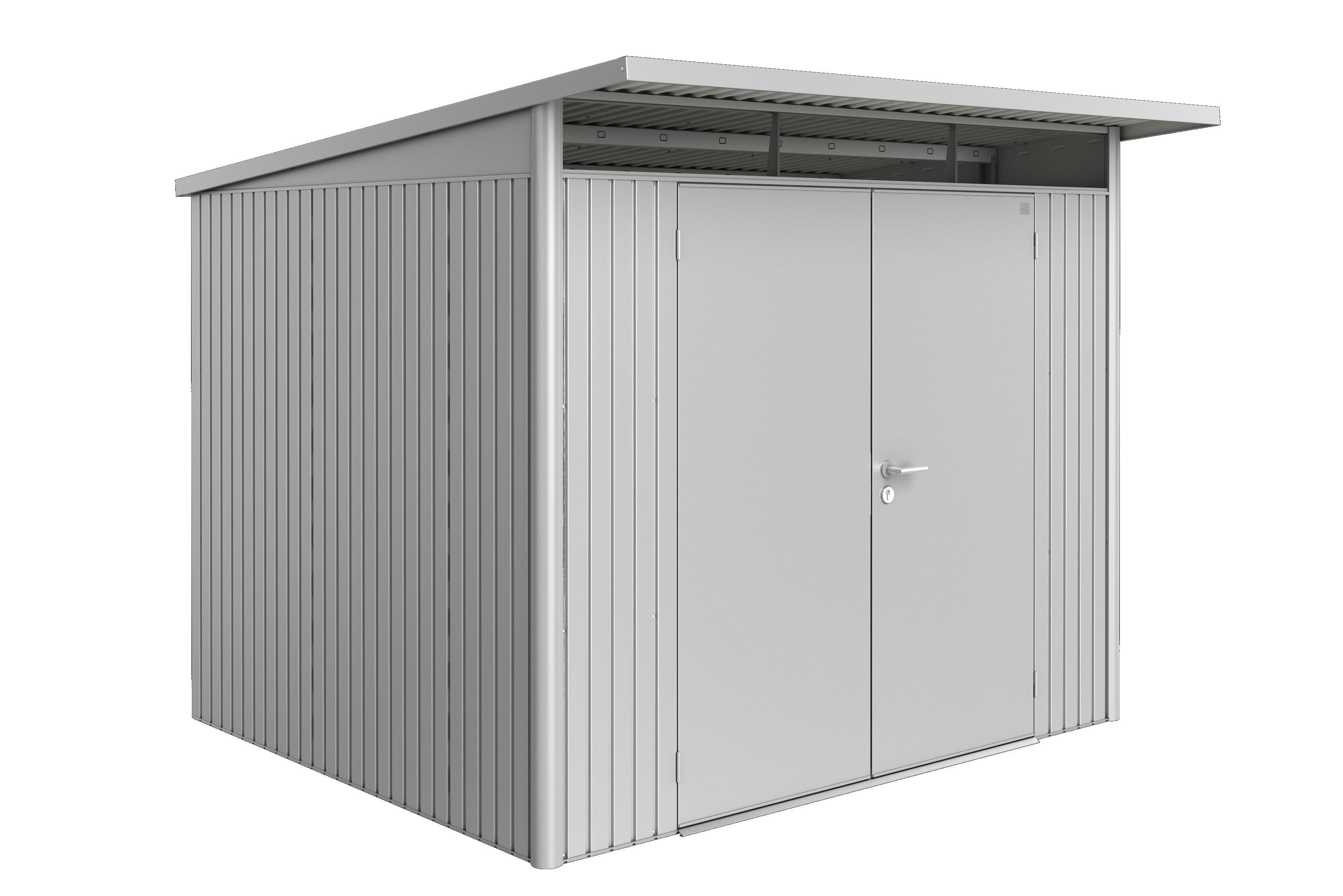 Biohort Zahradní domek AVANTGARDE A6, stříbrná metalíza