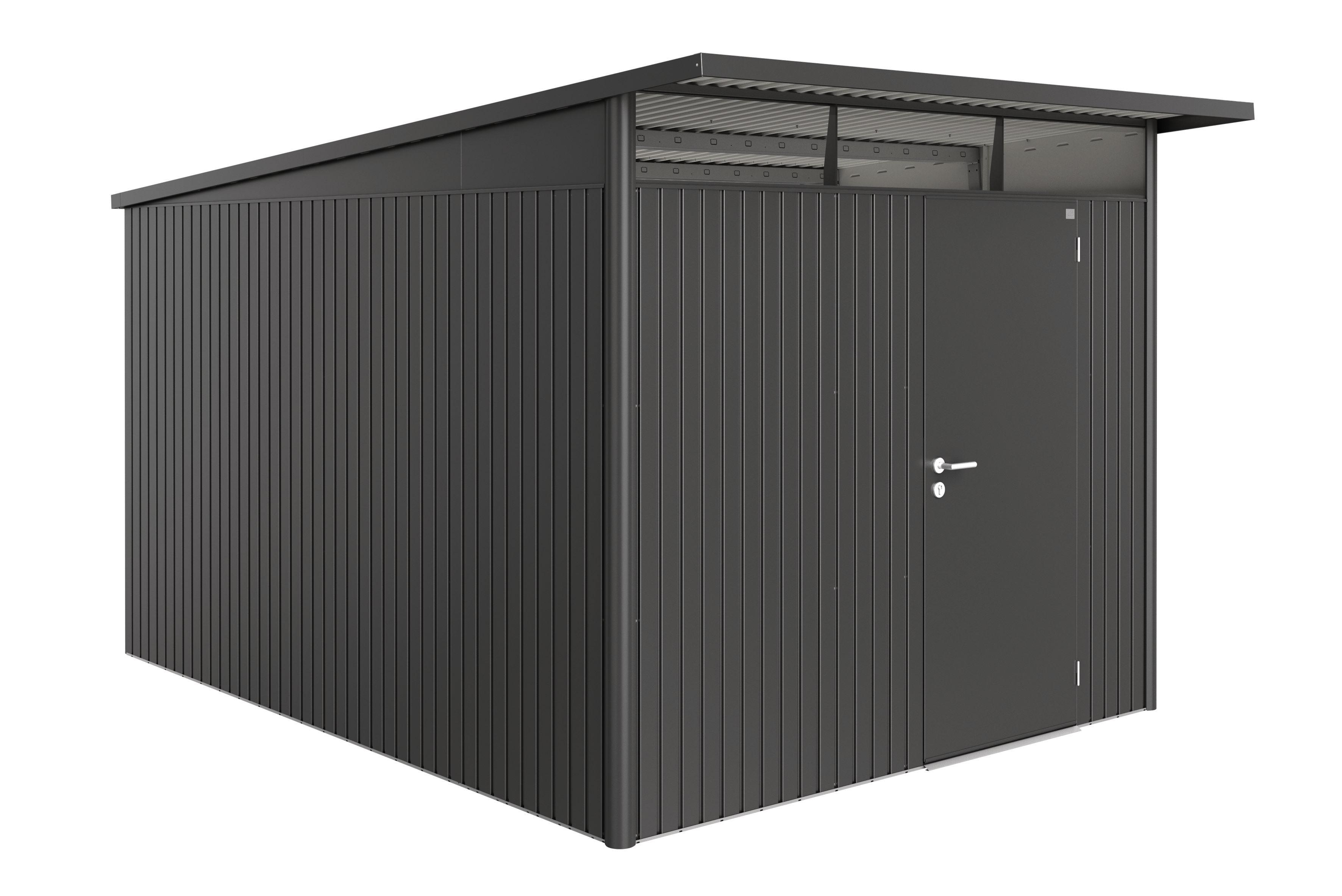 Biohort Zahradní domek AVANTGARDE A8, tmavě šedá metalíza