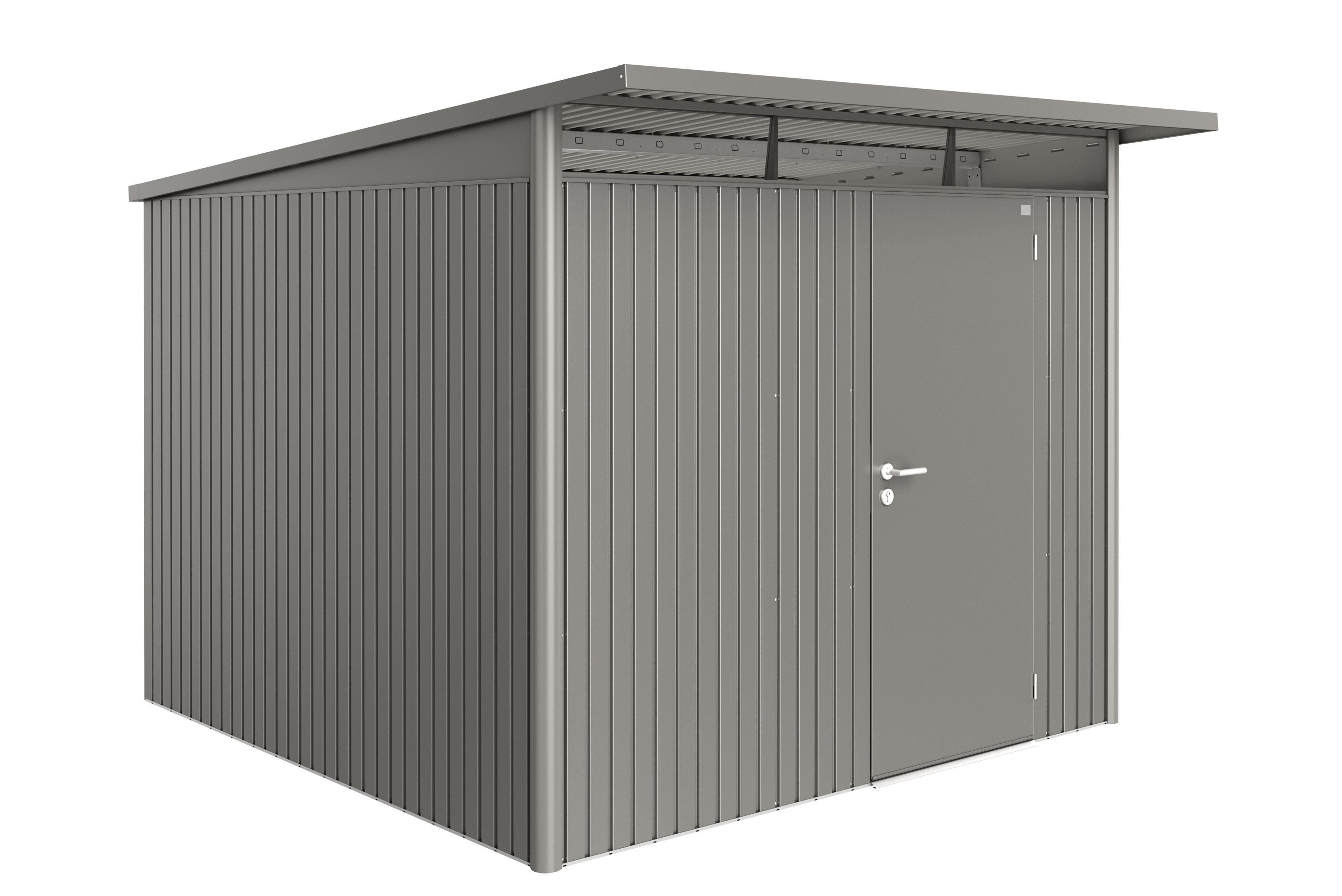 Biohort Zahradní domek AVANTGARDE A7, šedý křemen metalíza