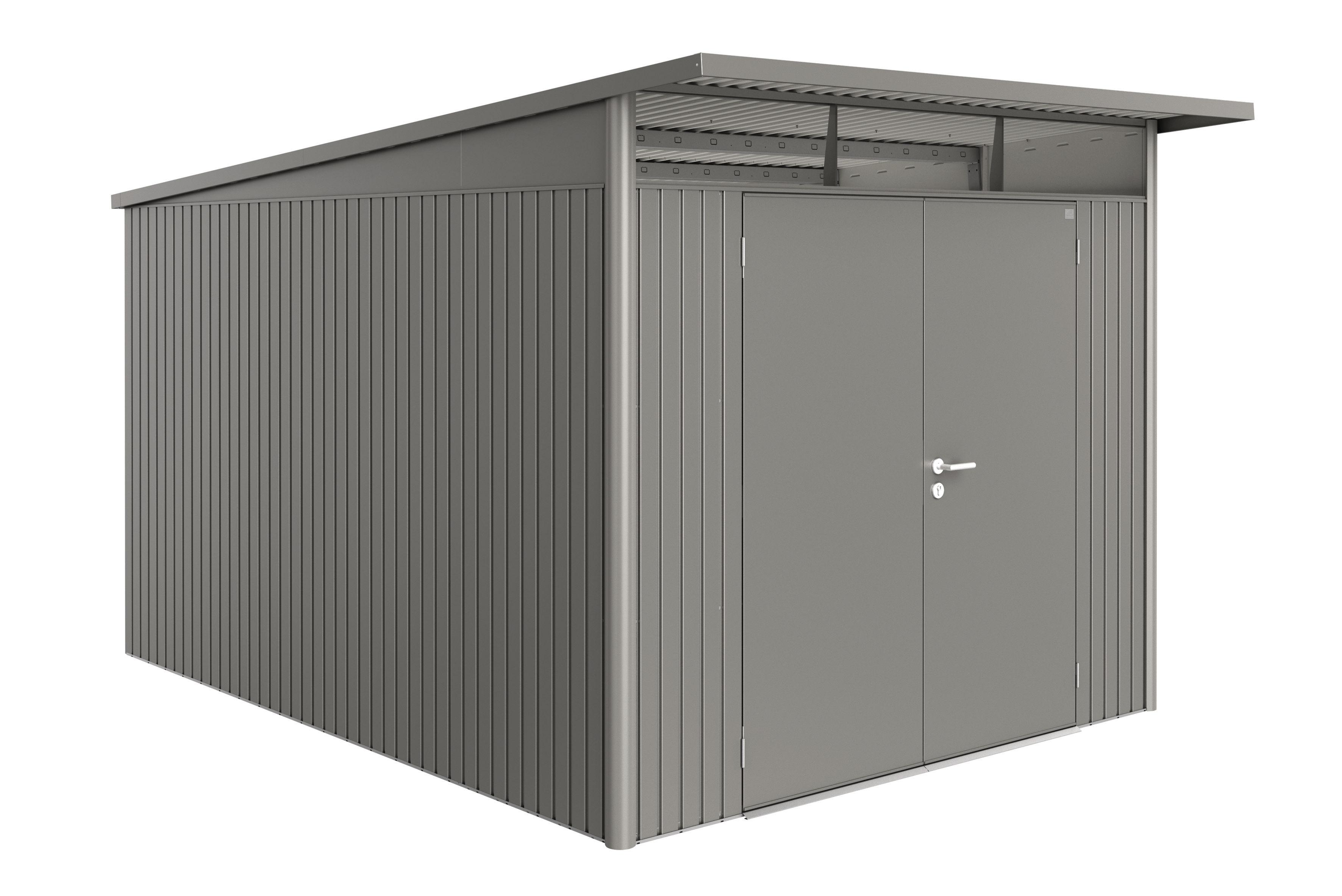 Biohort Zahradní domek AVANTGARDE A8, šedý křemen metalíza