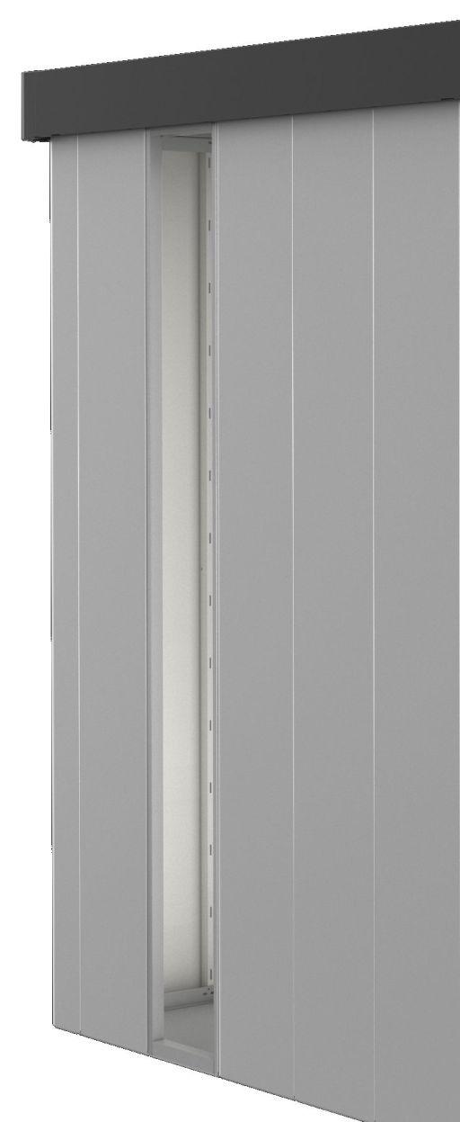 Biohort Panel z akrylátového skla, pro NEO stříbrná metalíza