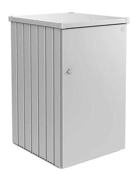 Biohort Box na popelnici Alex 1, stříbrná metalíza