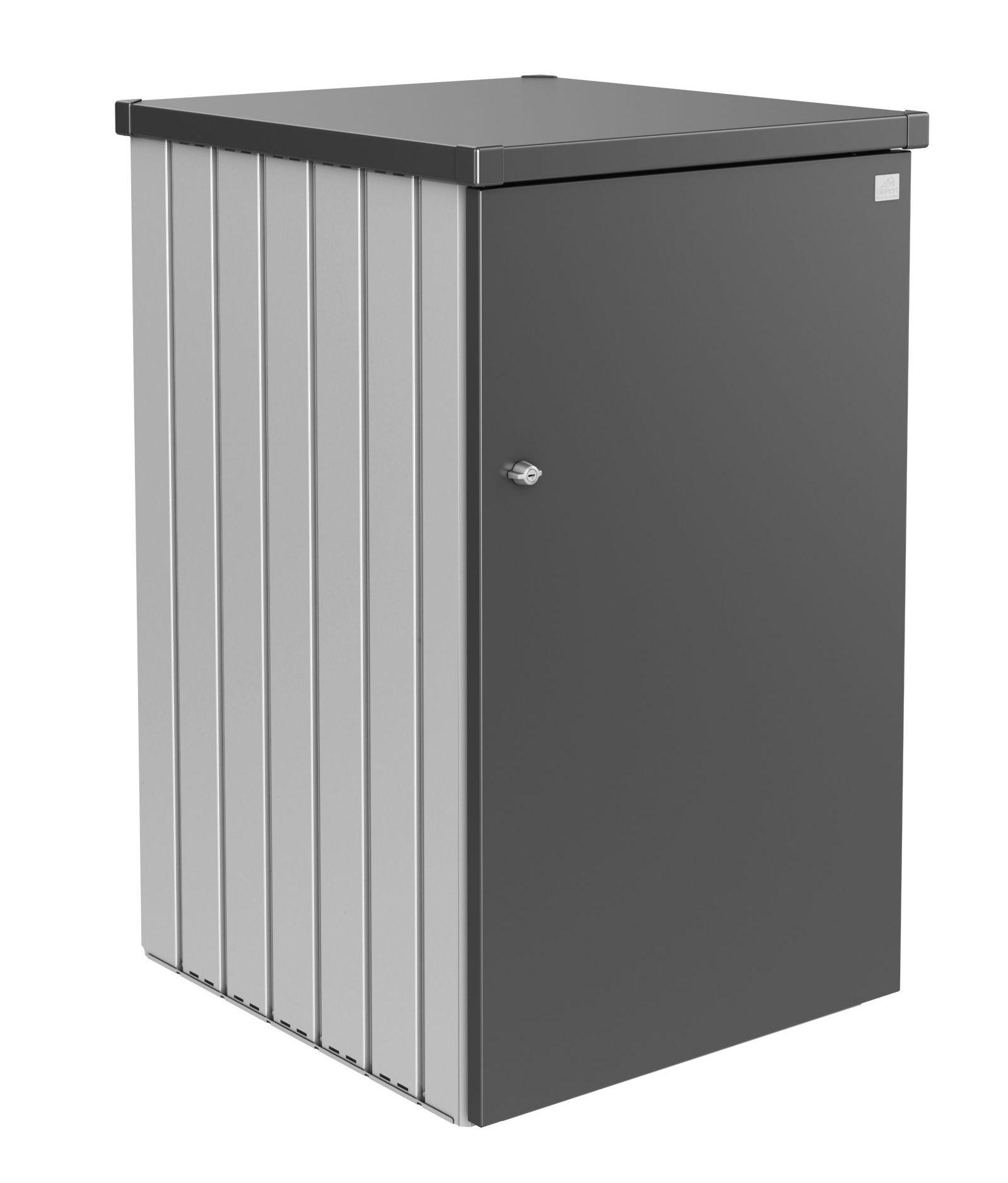 Biohort Box na popelnici Alex 1.3, stříbrná metalíza/tmavě šedá metalíza