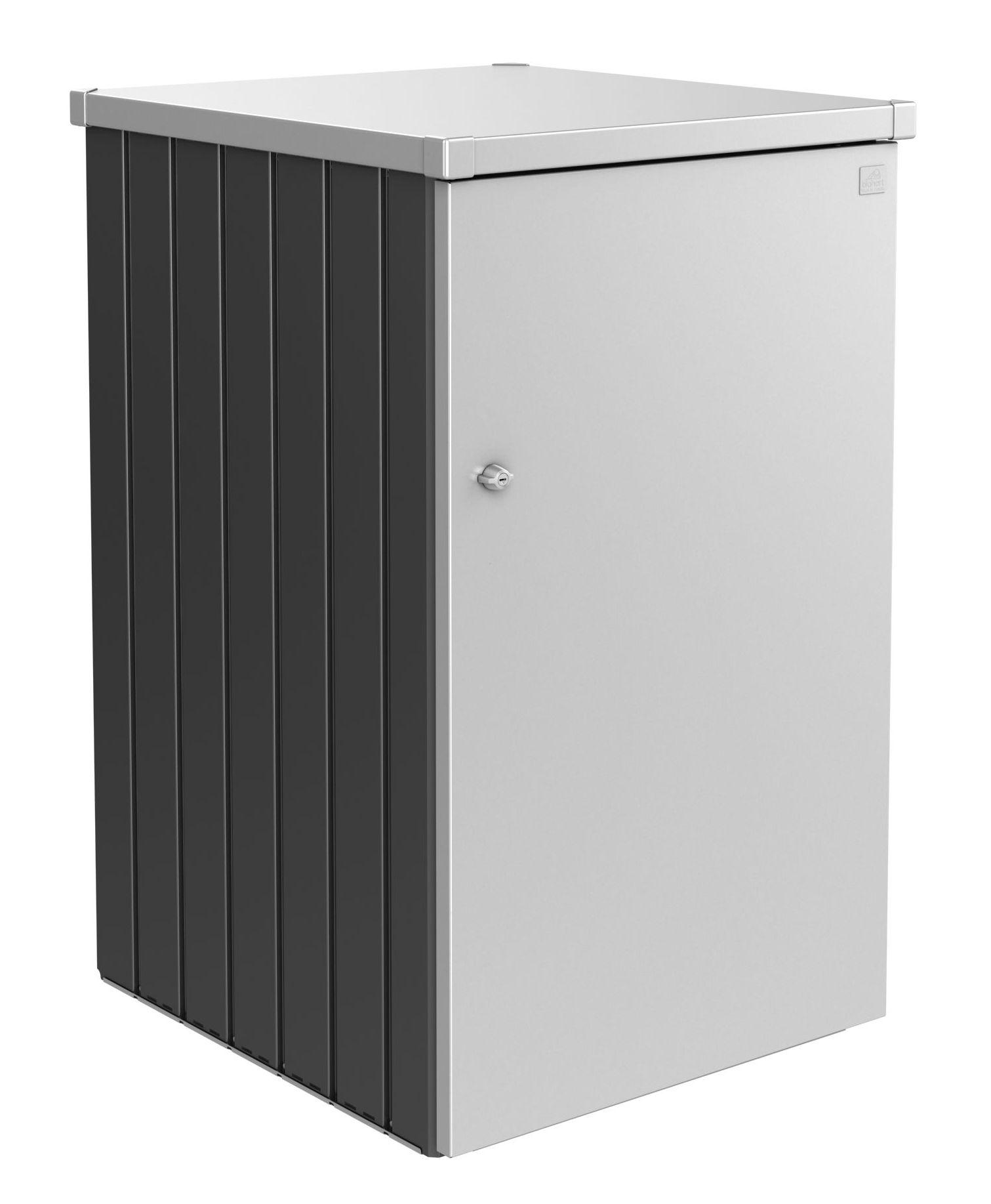 Biohort Box na popelnici Alex 3.1, tmavě šedá metalíza/stříbrná metalíza