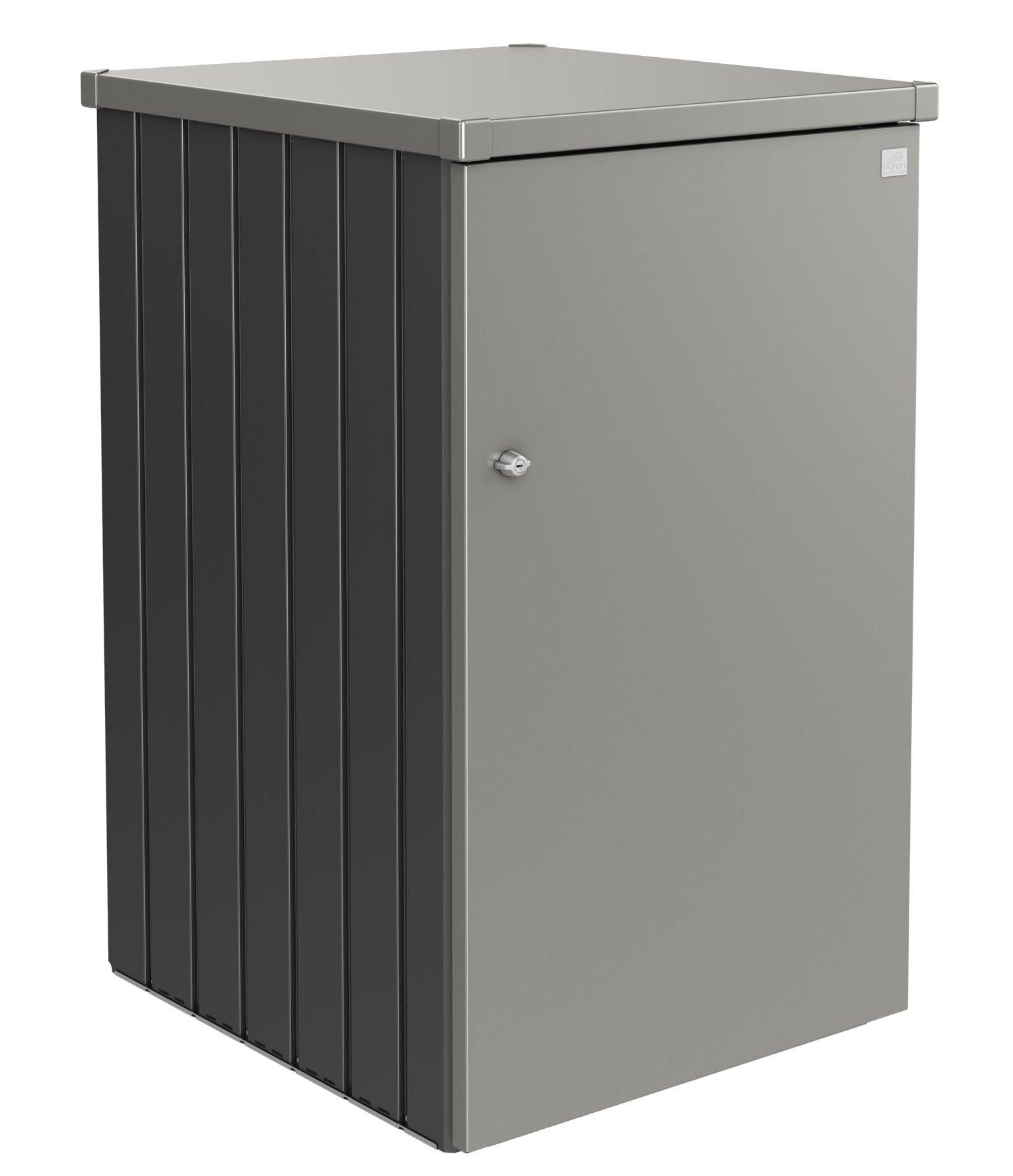 Biohort Box na popelnici Alex 3.2, tmavě šedá metalíza/šedý křemen metalíza