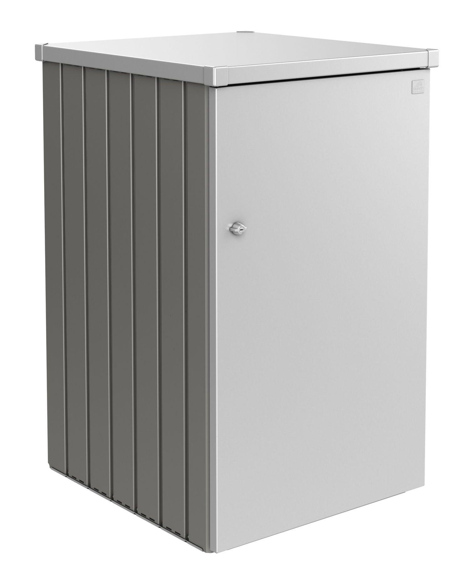 Biohort Box na popelnici Alex 2.1, šedý křemen metalíza/stříbrná metalíza
