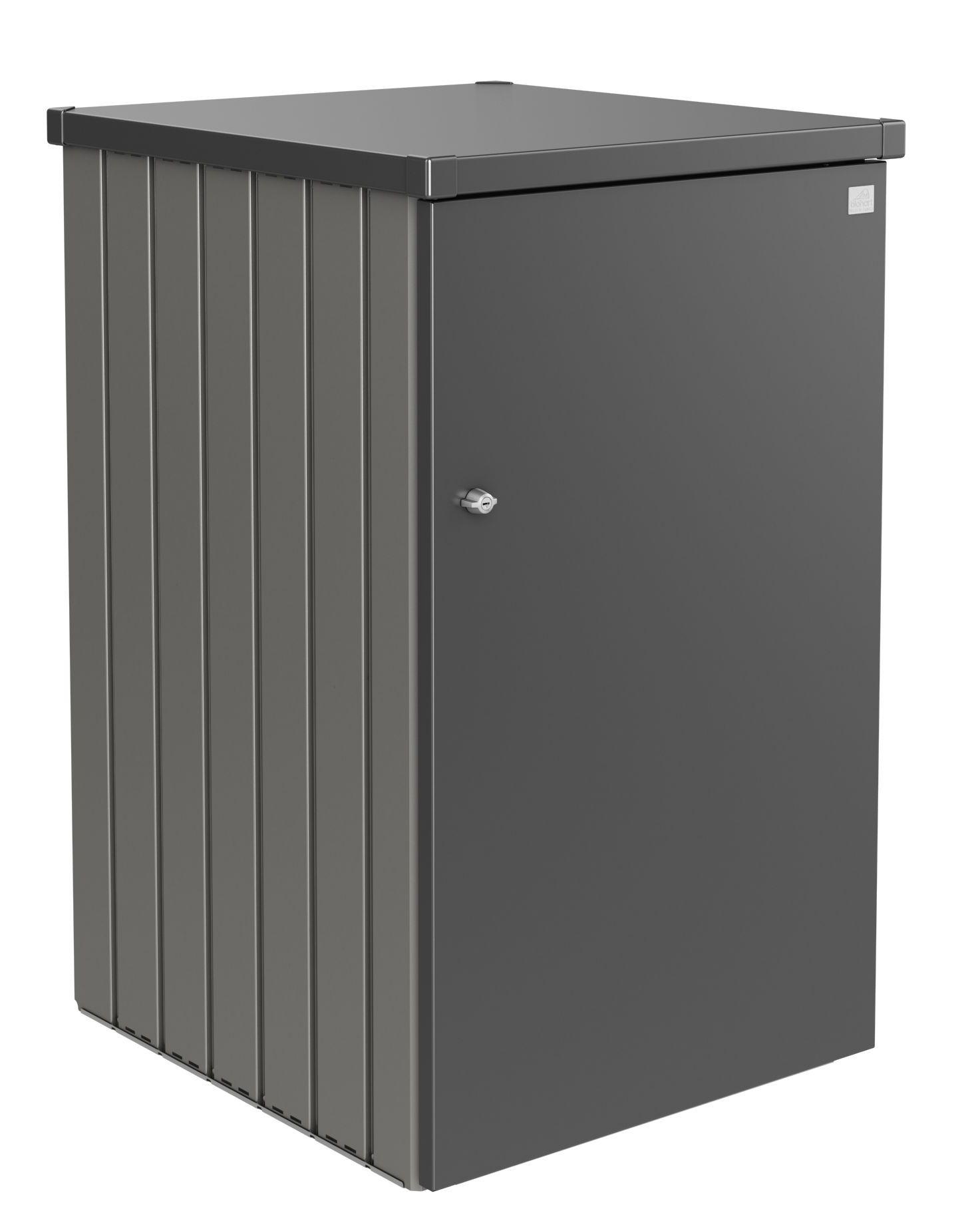 Biohort Box na popelnici Alex 2.3, šedý křemen metalíza/tmavě šedá metalíza