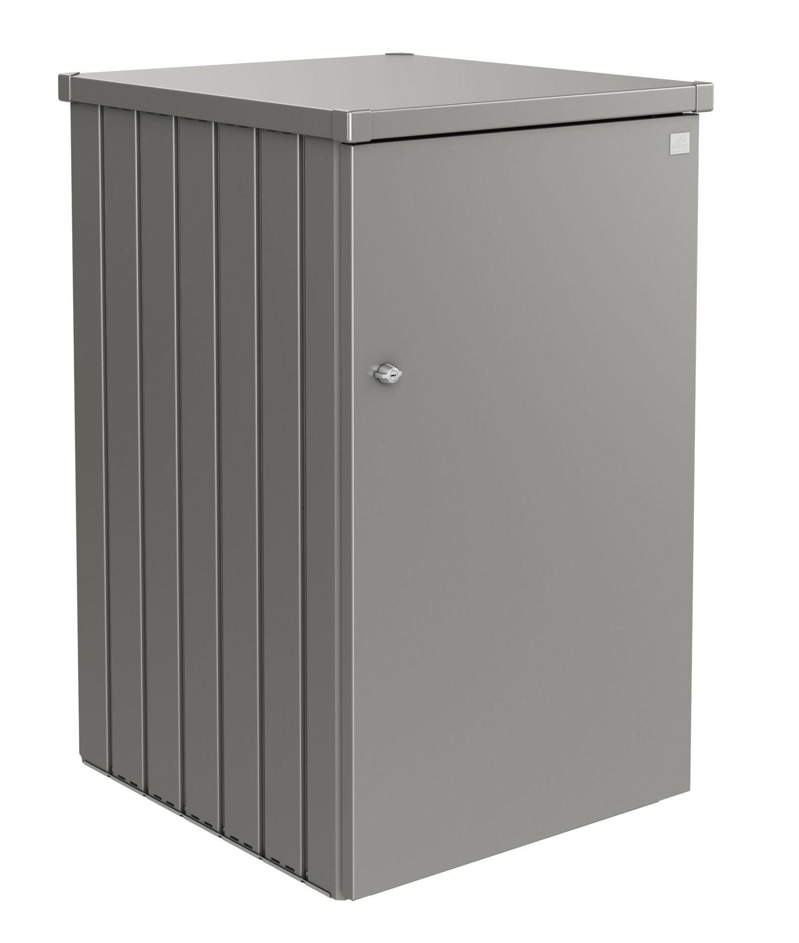 Biohort Box na popelnici Alex 2, šedý křemen metalíza