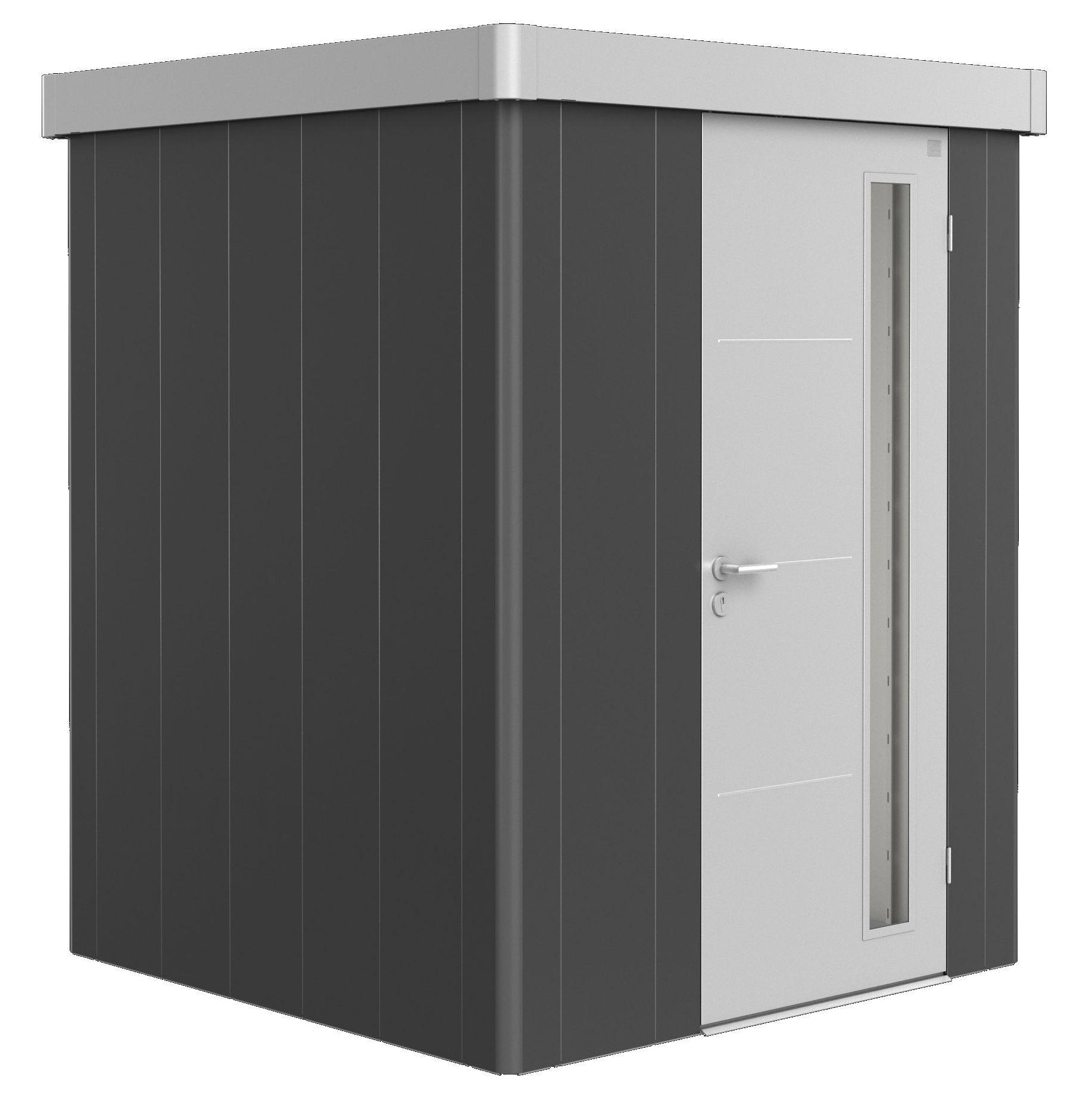 Biohort Zahradní domek NEO 1A, varianta 3.1 tmavě šedá metalíza