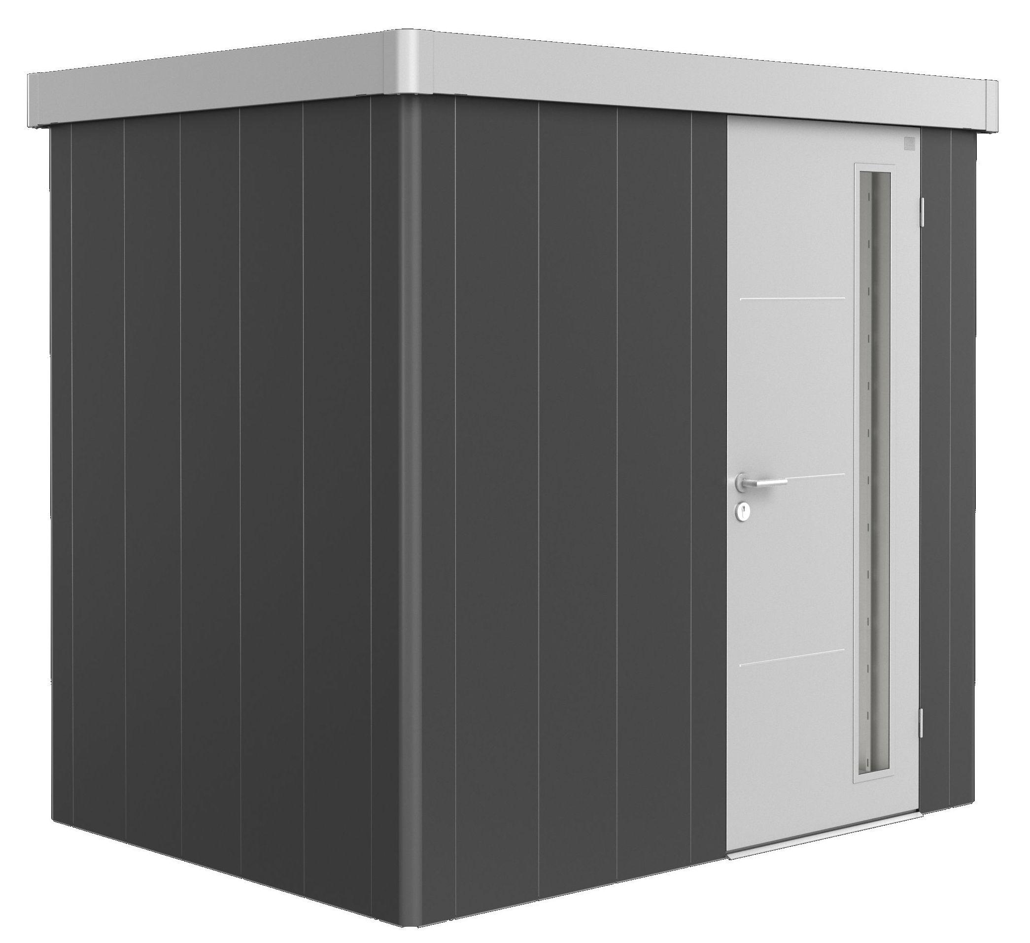 Biohort Zahradní domek NEO 1B, varianta 3.1 tmavě šedá metalíza