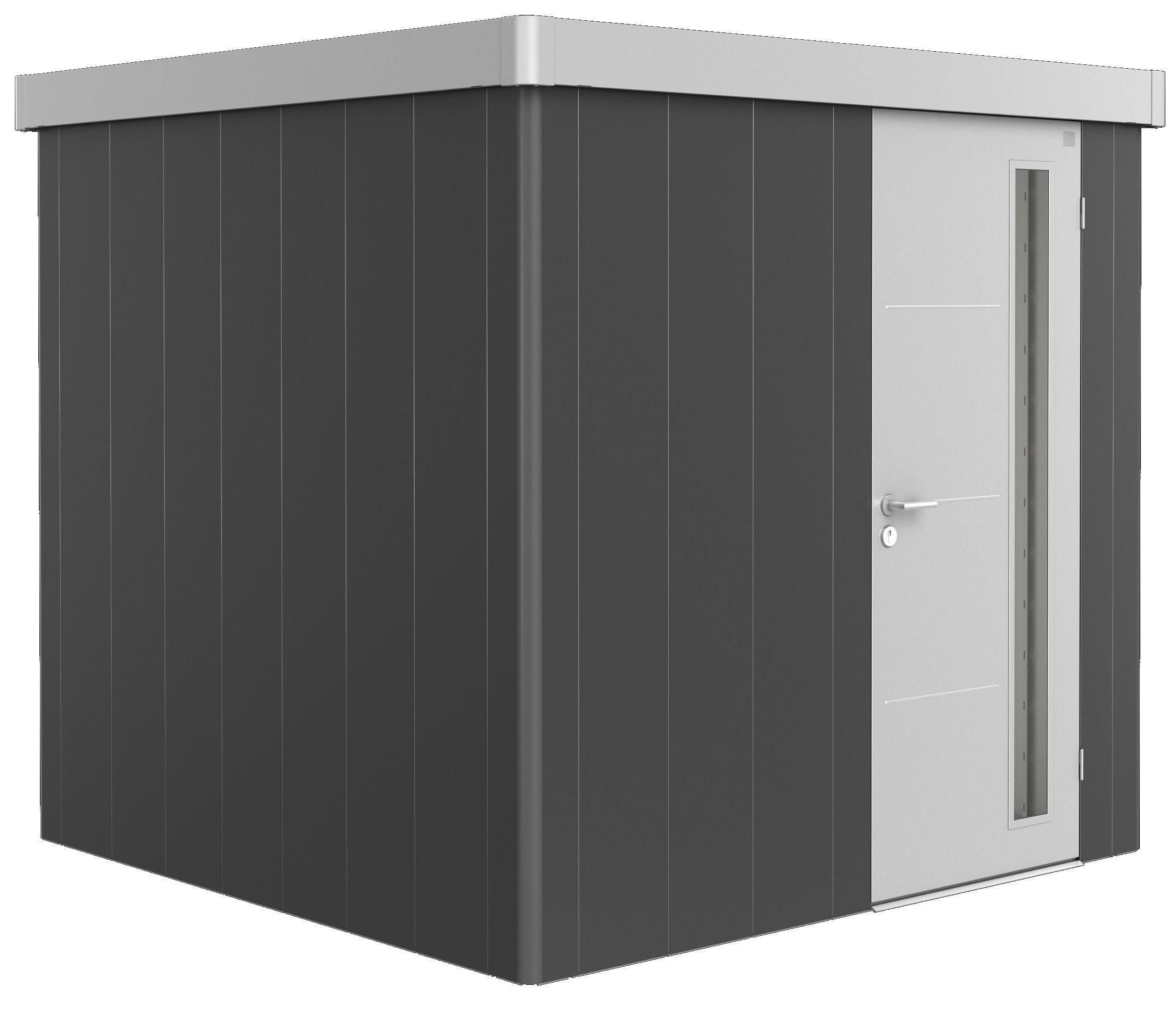 Biohort Zahradní domek NEO 2B, varianta 3.1 tmavě šedá metalíza