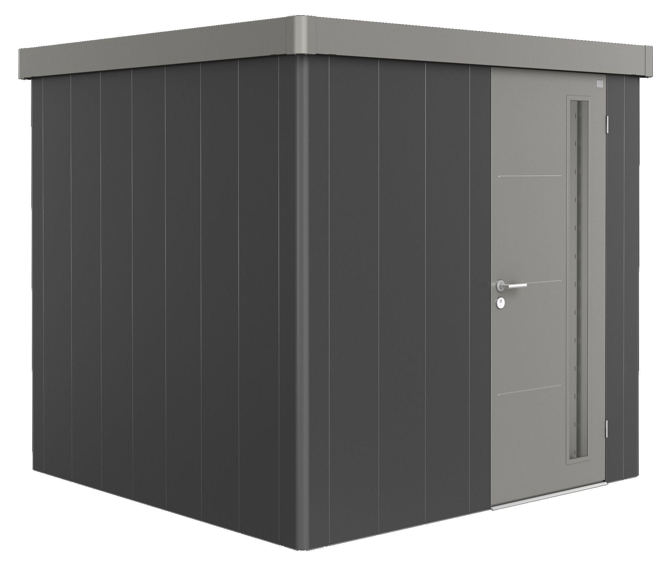 Biohort Zahradní domek NEO 2B, varianta 3.2 tmavě šedá metalíza