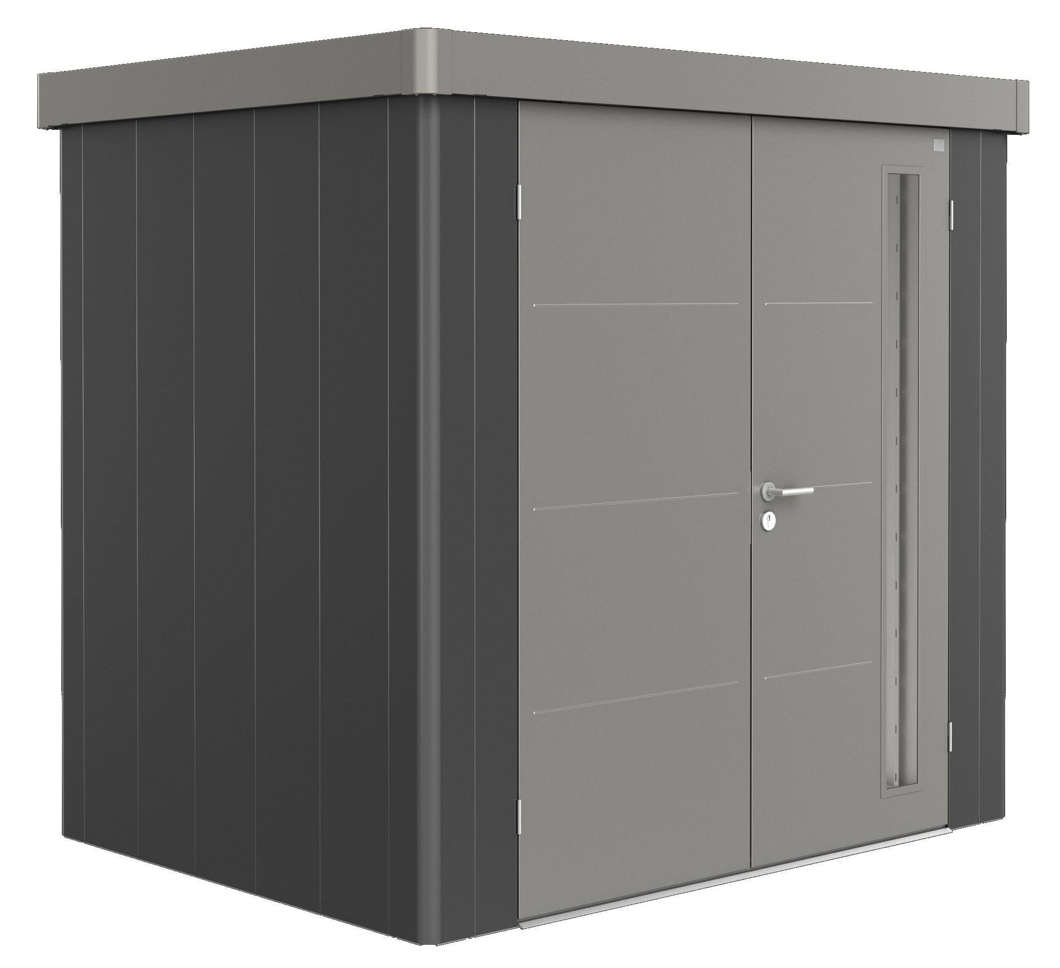 Biohort Zahradní domek NEO 1B, varianta 3.2 tmavě šedá metalíza